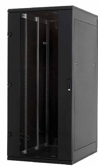 Serverschrank 45 HE, 800x1100 (BxT), Triton, schwarz. 19 Zoll-Tec ...