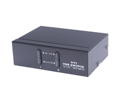 Bild von 2 Port KVM Desktop Switch (USB/DVI)
