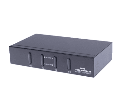 Bild von 4 Port KVM Desktop Switch (USB/DVI)